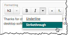 underline-strikethrough