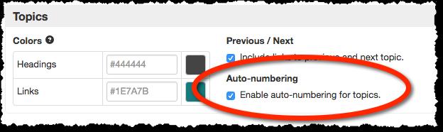 auto-number-topics